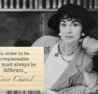Here's to the Crazy ones... Coco Chanel
