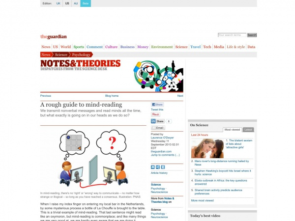 http://www.theguardian.com/science/blog/2013/sep/11/rough-guide-mind-reading